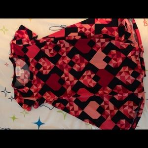 Lularoe size 2 never worn valentines heart dress